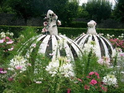 La Saline royale d'Arc-et-Senans, côté jardin