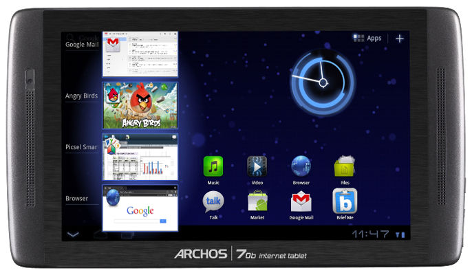 Tablette : Archos 70 IT