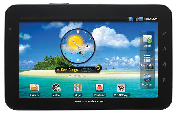 Tablette : Samsung Galaxy Tab 7