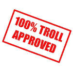 Illustration : 100 % Troll approved