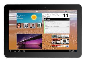 Tablette : Samsung Galaxy Tab 10.1