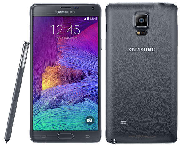 Smartphone : Samsung Galaxy Note 4 (32 GO / noir)