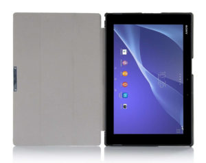 "Tablette : Sony Xperia Tablet Z2 - Cover livré dans la pack ""Business"" Design et prise en main"