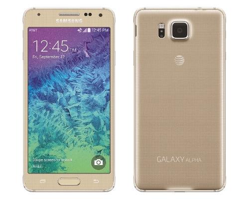 Smartphone : SAMSUNG Galaxy Alpha (version or)