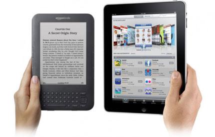 Comparer les liseuses (encre électronique) et les tablettes