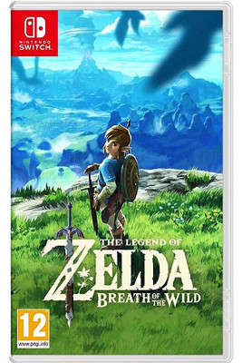 Nintendo Switch : Zelda Breath of the Wild (jeux)