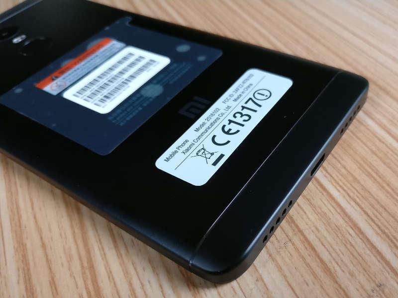 Smartphone - le Xiaomi Redmi Note 4 : Premières impressions