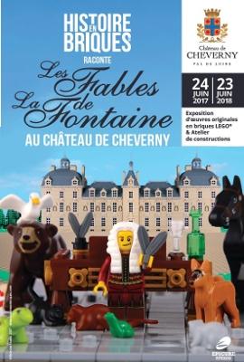 [Expo] Les Fables de la Fontaine au Château de Cheverny