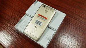 Xiaomi Redmi 4X : 3 Go de RAM / Version Globale