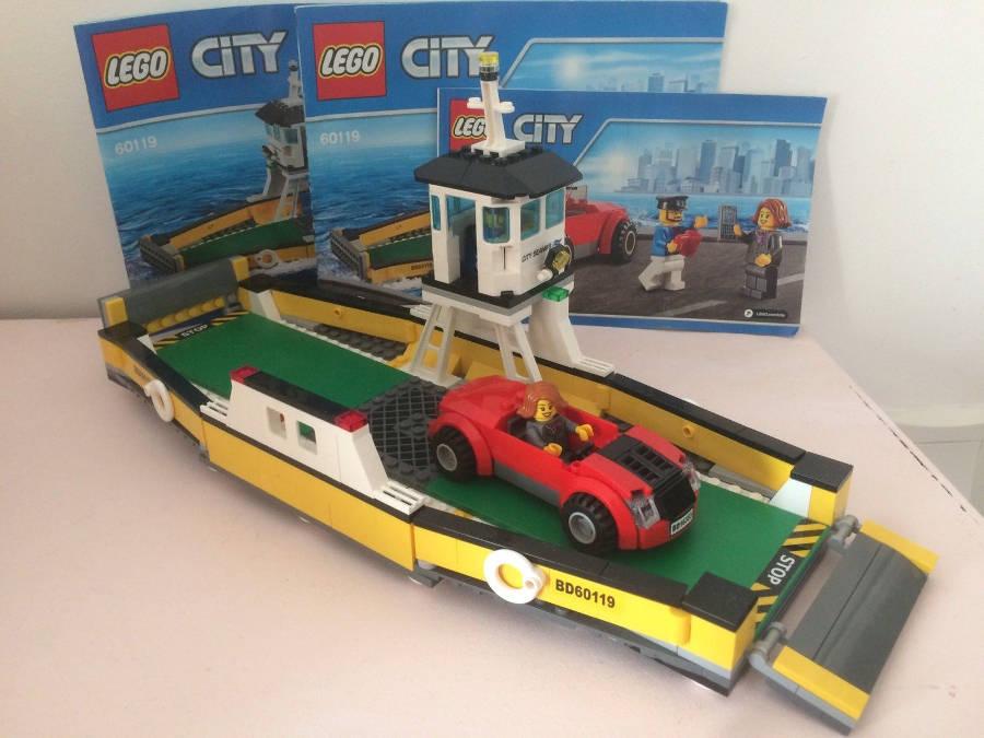 LEGO City 60119 : Ferry - Modèle et instructions