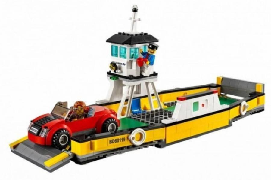 LEGO City 60119 : Ferry - Modèle construit