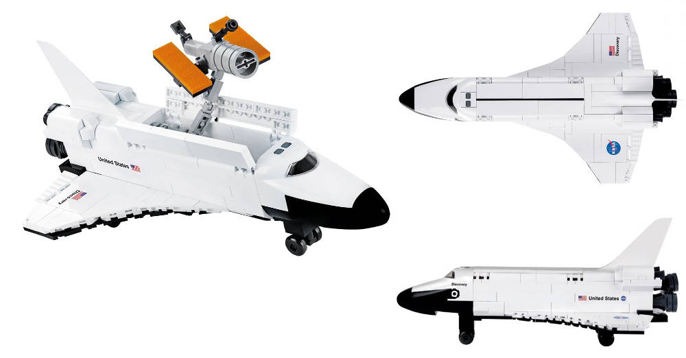 COBI Réf. 21076 – Space Shuttle Discovery