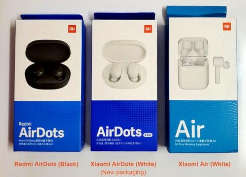 Les trois gammes d'écouteurs True Wireless de Xiaomi