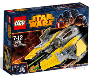 Boite LEGO Star Wars 75038 - Jedi Interceptor