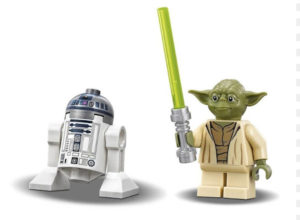 LEGO Star Wars 75168 – Les figurines