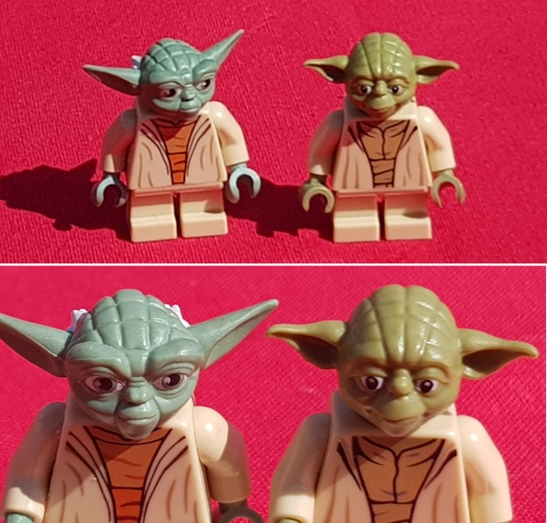 "LEGO Star-Wars - L'évolution de la figurine ""Yoda"""